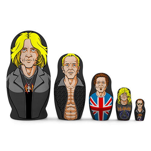 Caricature Nesting Dolls