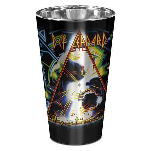 Hysteria Foil Pint Glass