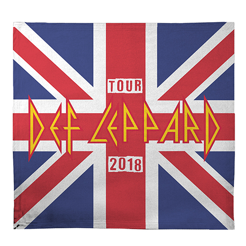 Tour 2018 Union Jack Blanket
