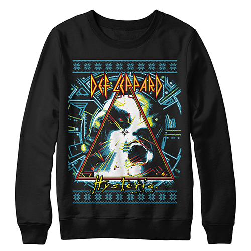 Hysteria Christmas Crewneck Sweatshirt