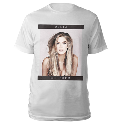 Delta Goodrem photo tee