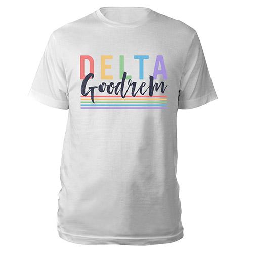 Delta Goodrem Rainbow Tee