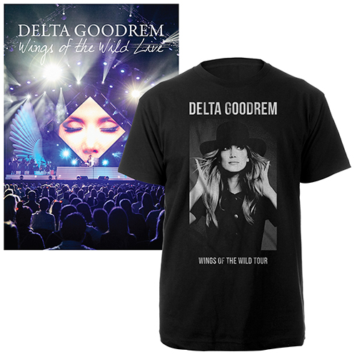 Wings of the Wild Live concert Bluray and exclusive tour tee