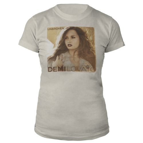 Demi Lovato Unbroken Album Cover babydoll shirt