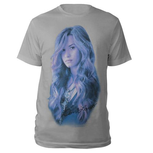 Demi Lovato Silver Portrait Shirt