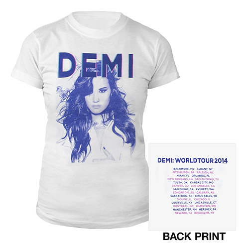 Demi Women's World Tour Shirt