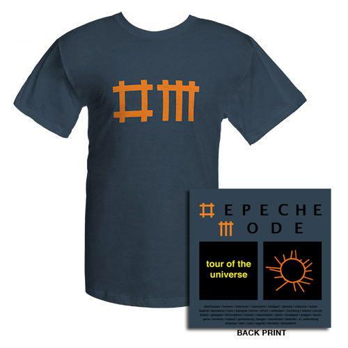 Depeche Mode Denim Dates T-shirt