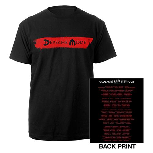 Logo/European Dates Black T-shirt