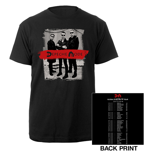 Photo/European Dates Black T-shirt