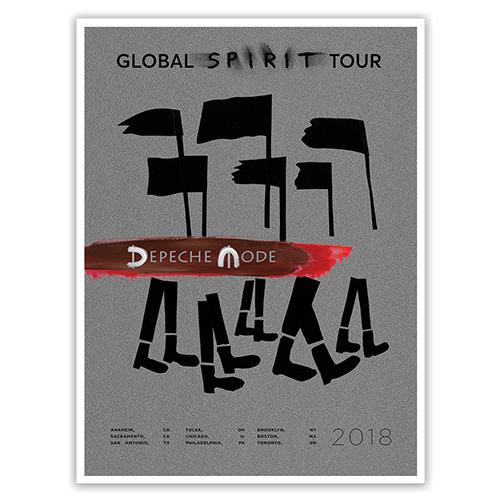 Album Itinerary Poster