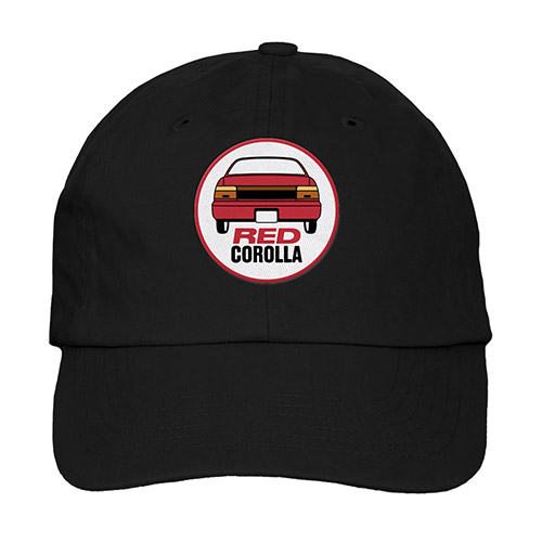 RED COROLLA HAT