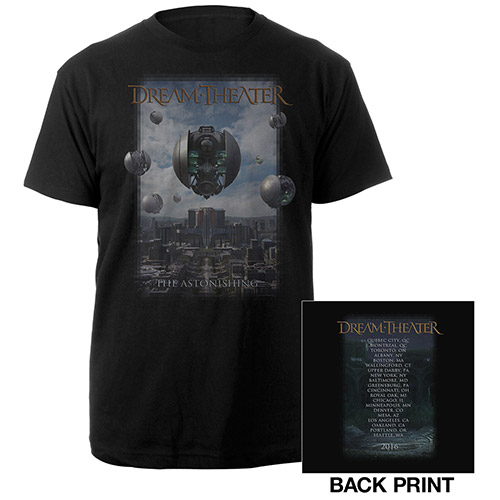The Astonishing Album Cover US Tour Tee