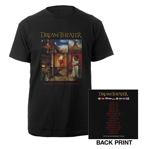 Images and Words 25th Anniversary EU Tour Tee