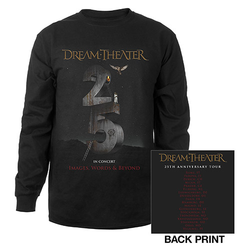 Images and Words 25th Anniversary EU Tour Longsleeve Tee