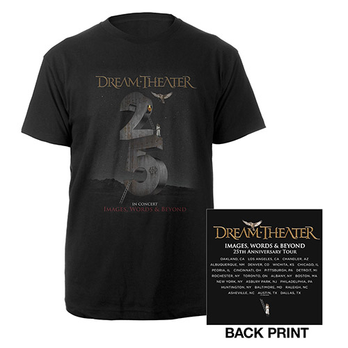 Images and Words 25th Anniversary US Tour Tee