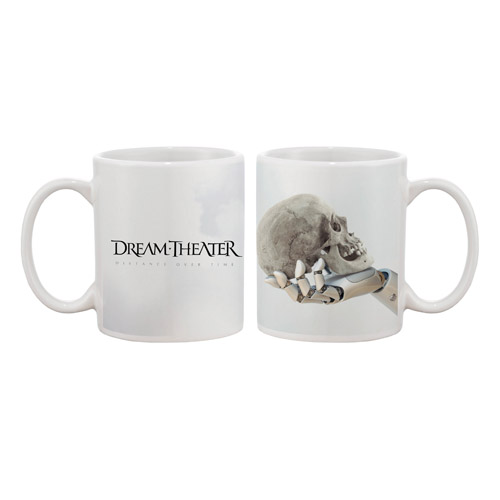 Distance Over Time white mug