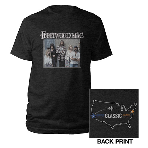 Fleetwood Mac Vintage Photos 2017 Classic Tee