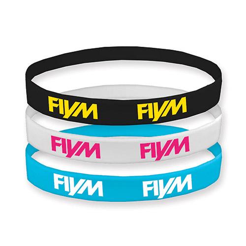 FIYM silicon wristbands