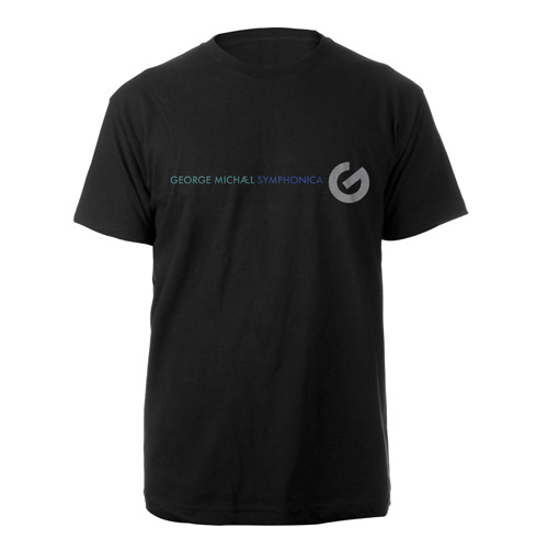 George Michael Symphonica Black T-shirt
