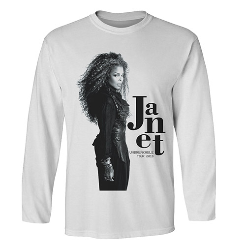 Janet Profile Photo Long Sleeve T-shirt
