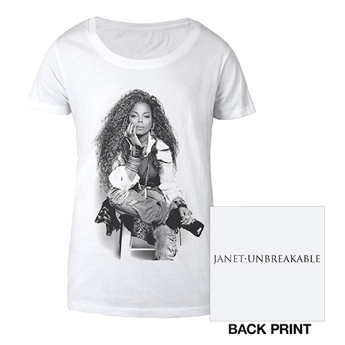 Janet Jackson Burnout T-Shirt