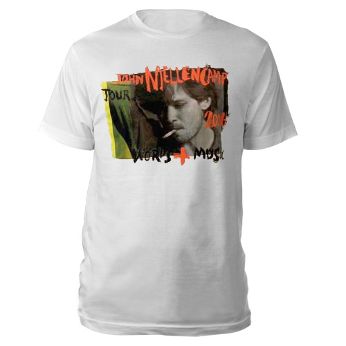 John Cougar Words & Music Tour T-Shirt