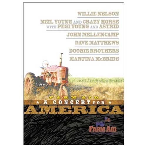 Farm Aid 2001  Concert For America VHS