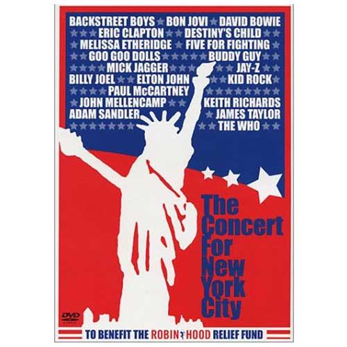 Concert for New York City VHS