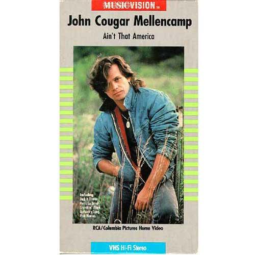 John Cougar Mellencamp: Ain't That America (1985) VHS
