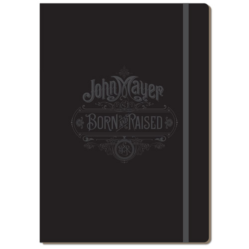 Born and Raised Ad Folio Notebook