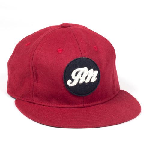 JM logo Burgandy Ballcap