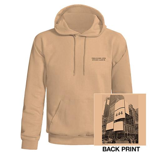 Jay-Z 4:44 New York City Pullover Hooded Sweatshirt