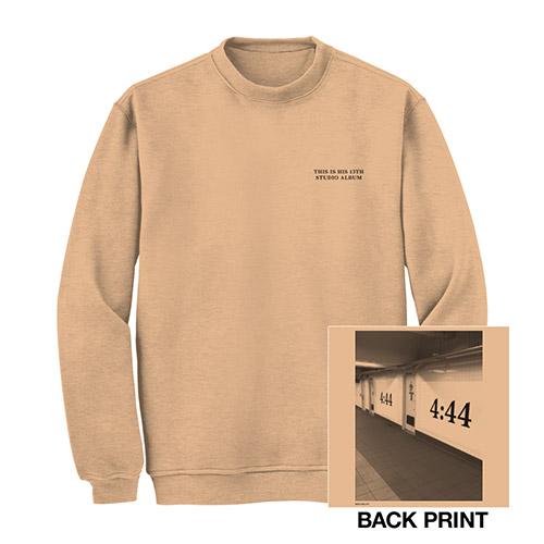 Jay-Z 4:44 Brooklyn Crewneck Sweatshirt