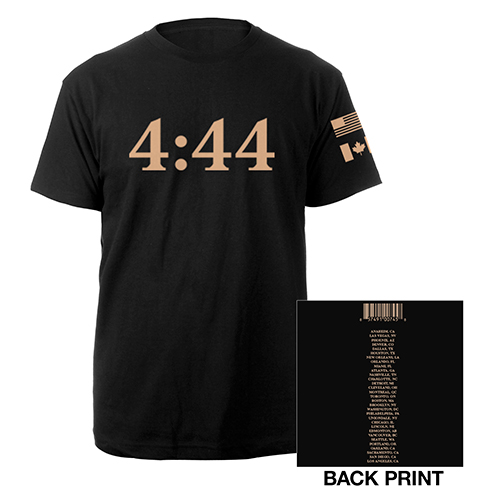 Jay-Z 4:44 Tour 2017 Flags Tee