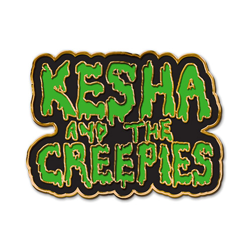 Kesha and the Creepies Enamel Pin