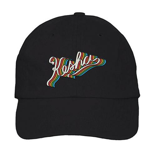 Kesha Rainbow Adjustable Hat