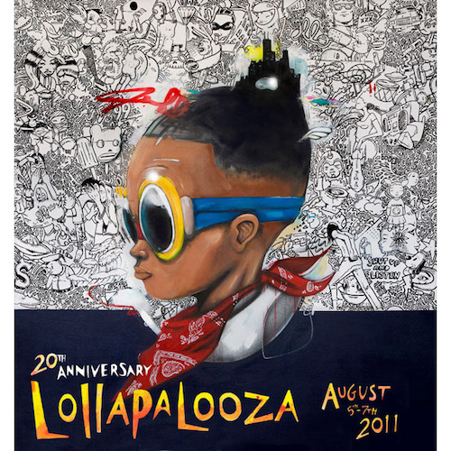2011 Lolla Poster Signed & Numbered Edition