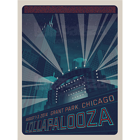 2014 Artist Poster Numbered Edition