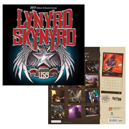 Lynyrd Skynyrd 2017 Calendar