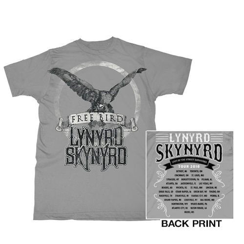 Freebird Tour Itinerary Tee