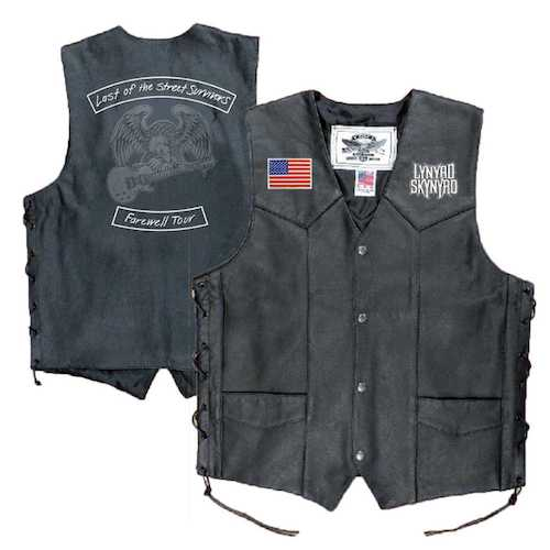 Last of the Street Survivors Leather Vest
