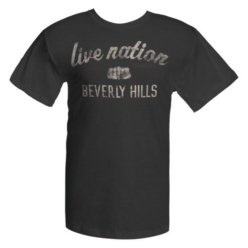 Beverly Hills Tee Charcoal