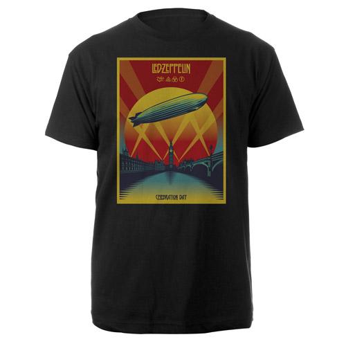Led Zeppelin Celebration Day Black T-Shirt