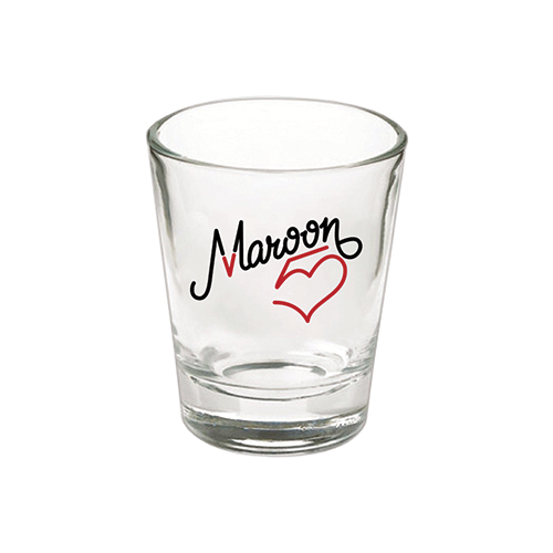 Maroon 5 Logo Shot Glass