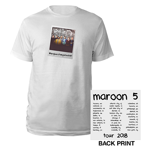 Maroon 5 #dirtylooksfromyourmother Tour Tee