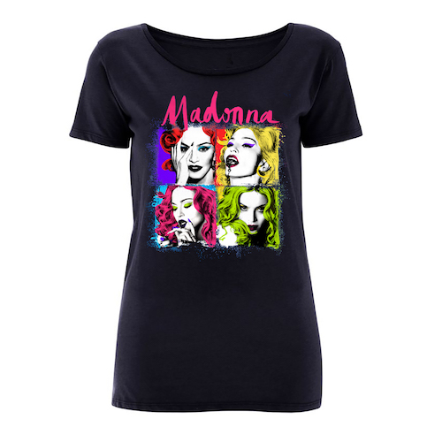 Madonna Pop Art European Tour Tee
