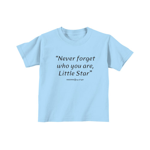 Never Forget Who You Are Toddler Tee