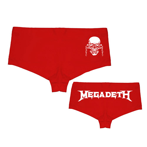 Megadeth Boy Shorts