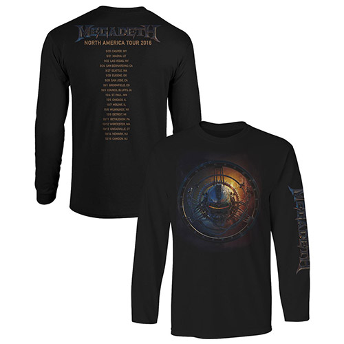 US Tour 2016 Itin Long Sleeve