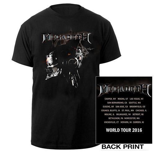 Megadeth Vic Robot Itin Tee